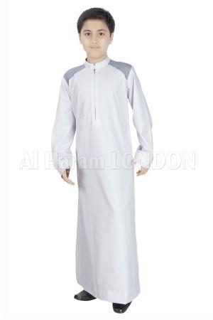 Arabic Daffah Designer Boys Thobe-10026