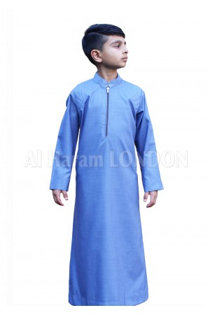Designer Shoulder work Boys Thobe-10043