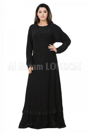 Classic Casual Closed Abaya - 30272