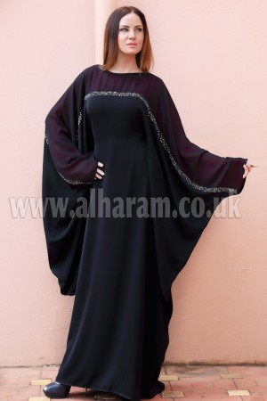 Full Sleeves Designer  Abaya - 30176