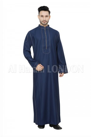 Blue Long line Designer Thoube-90038