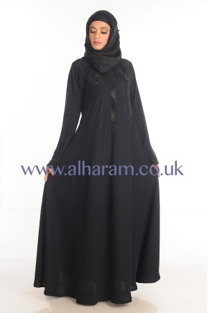 Umbrella cut Traditional Nida abaya - 30052