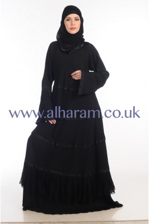 Flowly Umbrella Design Nida abaya - 30069