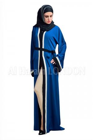 Vertical Bordered Designer Abaya - 30140