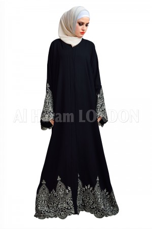 Designer Party wear Nida Abaya - 30143