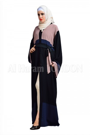 Dual Shade Nida Abaya - 30154