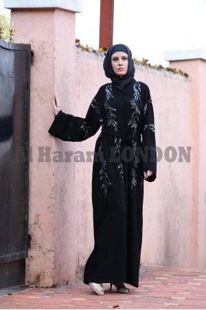 Gorgeous  Shimmer Abaya - 30215