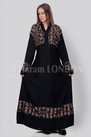 Belted Wrap Abaya  - 30226