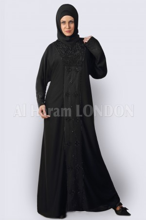 Classic Muslim Black Abaya - 30254