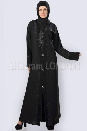 Black Umbrella Style  Abaya - 30257