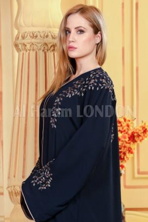 Golden Night Luxurious Abaya - 30302