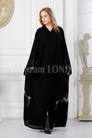 Twinkling White Designer  Abaya - 30310