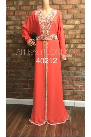 Bright Day Gown Farasha Kaftan-40212