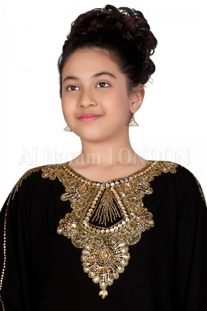 Golden Necklace Style Girls Farasha 70026