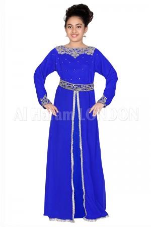 Front Slit Designer Girls Farasha 70027