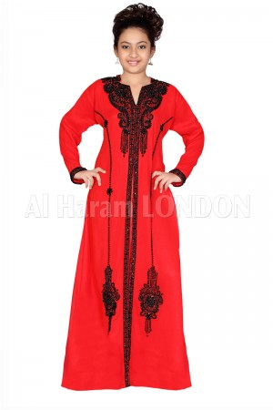 Party Wear Chiffon Girls Farasha 70031