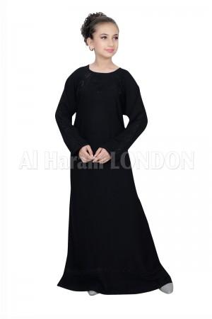 Girls Designer Nida Abaya 70064