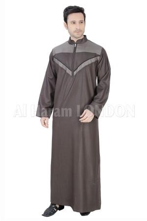 V lined Zipped Men's designer Thoube-90013