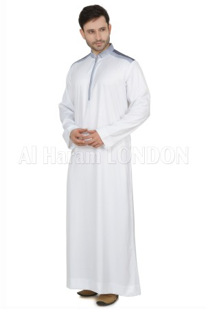 Designer Button Collar Men's Thoube-90031