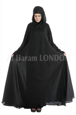 A-Class Fine Nida Fabric Abaya - 30053