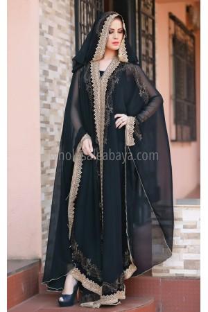 Designer Chiffon Overcoat 30172