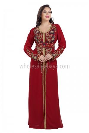 Designer Modest Look Farasha Kaftan 40243