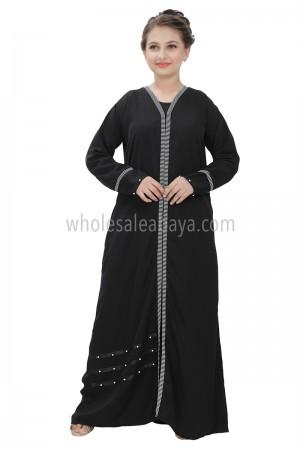 Designer Nida Girls Abaya 70084