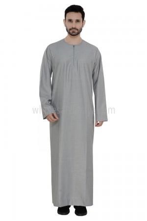 Omani Style Men's Thoube 90008 RL