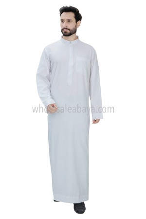 Daffah Style Men's Plain Collar Thoube 90010 NS