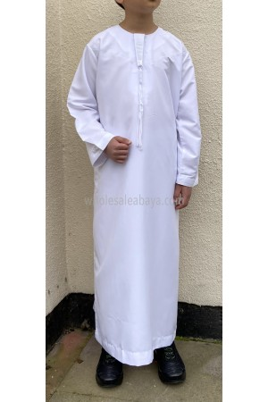 Boys Omani Style Thoube With Tassel 10008 C