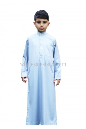 Boys Plain Collar Thoube 10010 S