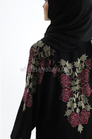 Nida Beautiful Embroidery Abaya 30311