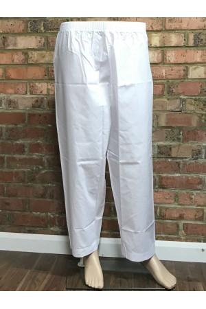White polyester pants for Men 50025