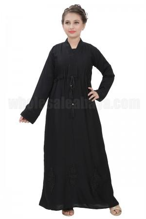 Girls Designer Nida Abaya 70081