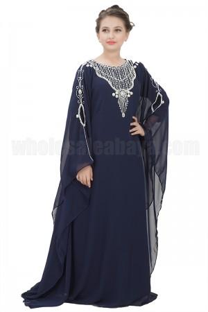 Farasha Long sleeves Girls Kaftan- 70087