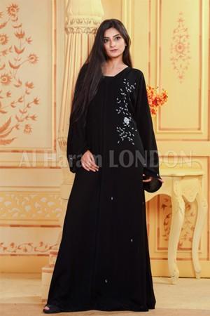Button up Pearl Abaya - 30292